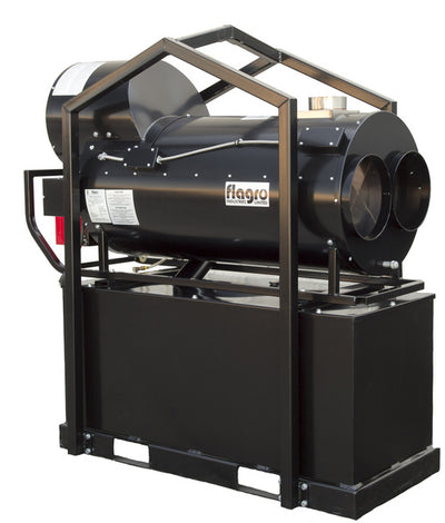 Flagro Oil Indirect Fired Heater - Bulk Tank | 390,000 BTU Facility Equipment - Cleanflow