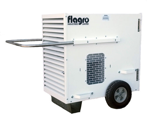 Flagro Propane/Natural Gas Ductable Direct Fired Heater | 175,000 BTU Facility Equipment - Cleanflow