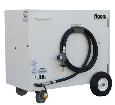 Flagro Propane/Natural Gas Ductable Direct Fired Heater | 330,000 BTU Facility Equipment - Cleanflow