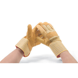 Felt Lined Cowgrain Winter Gloves Work Gloves and Hats - Cleanflow