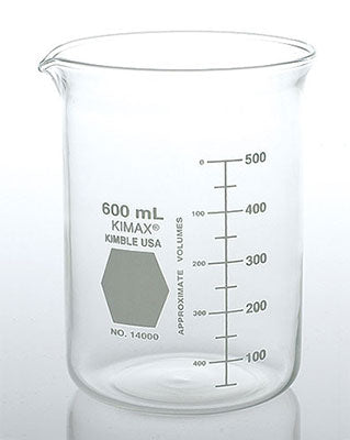 Low Form Griffin Glass Beakers Water Testing Supplies - Cleanflow
