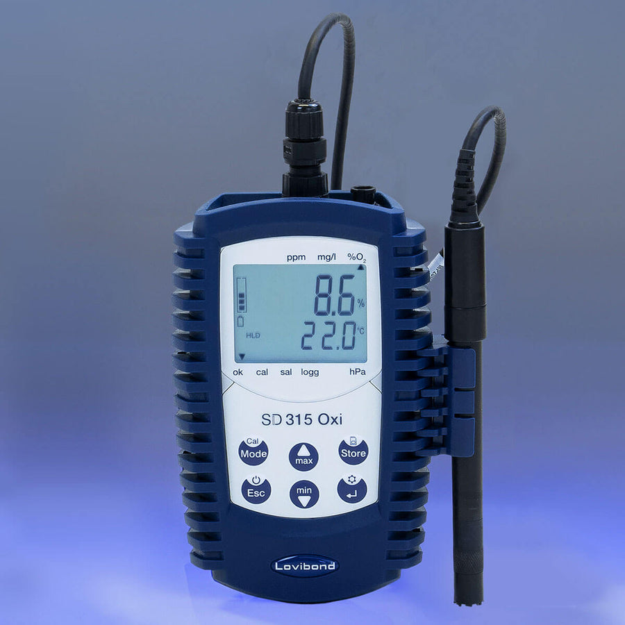 Lovibond SD 315 Portable Dissolved Oxygen/Temperature Kit