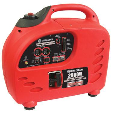 King Canada Gasoline Digital Inverter Generator | 2000W
