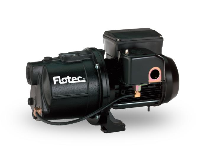 Flotec Cast Iron Shallow Well Jet Pump | 1/2 HP | 120 Volt