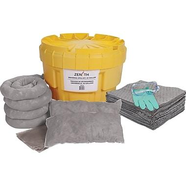 20 Gallon Stationary Universal Spill Kit Facility Safety - Cleanflow