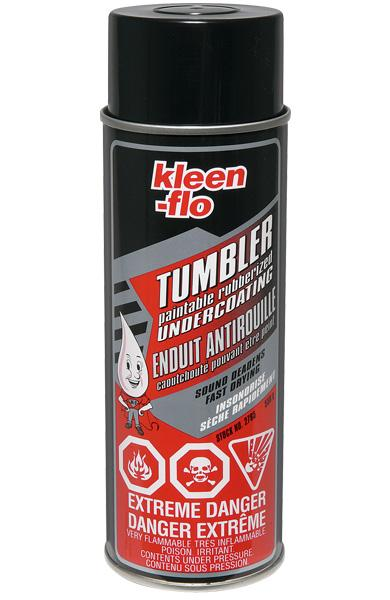 Kleen-Flo Paintable Rubberized Undercoating - 550g Can - Case of 12 Maintenance Supplies - Cleanflow