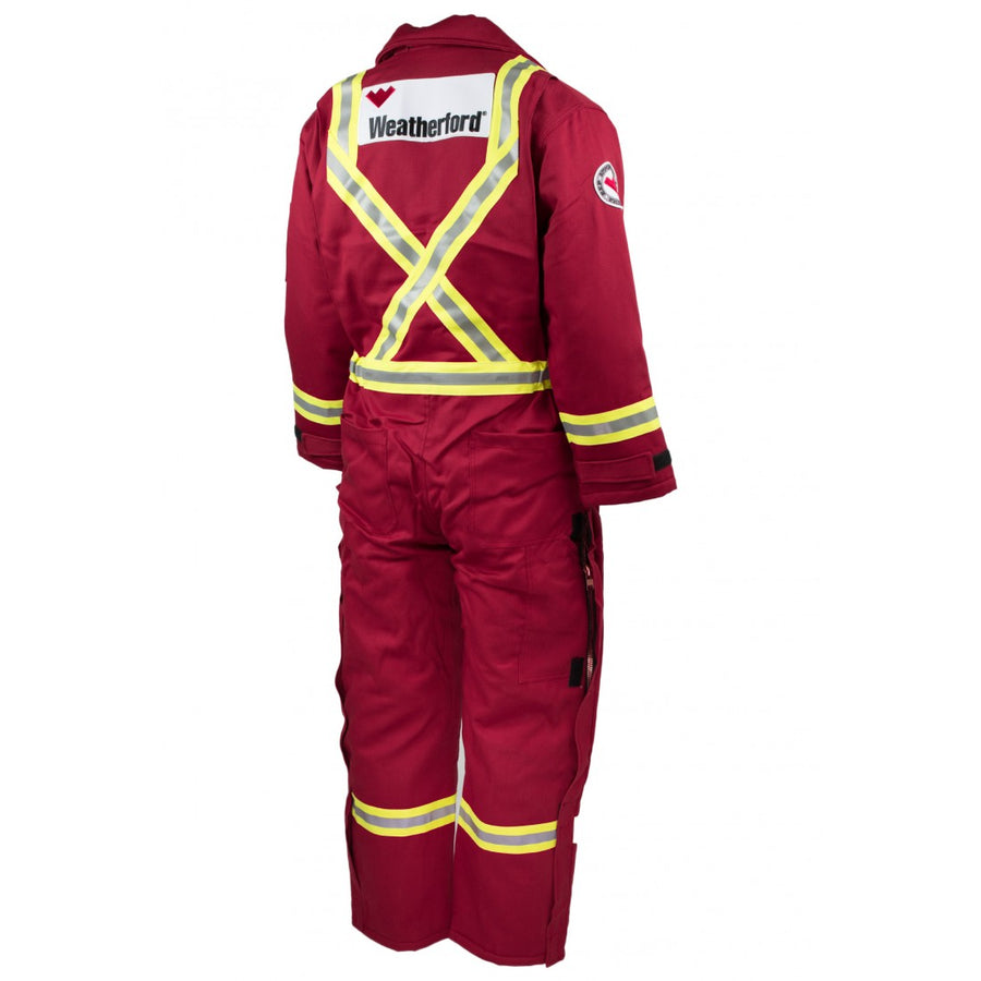 KELTEK 305S Flame Resistant Insulated Coverall | Red | S-5XL (HRC 4)