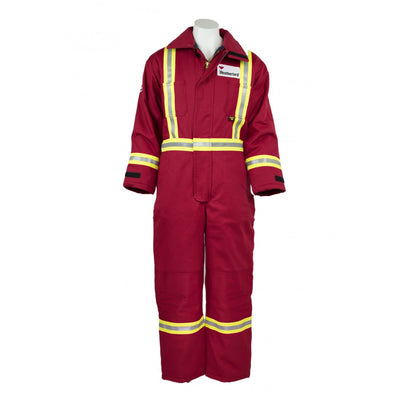 KELTEK 305S Flame Resistant Insulated Coverall | Red | S-5XL (HRC 4) Flame Resistant Work Wear - Cleanflow