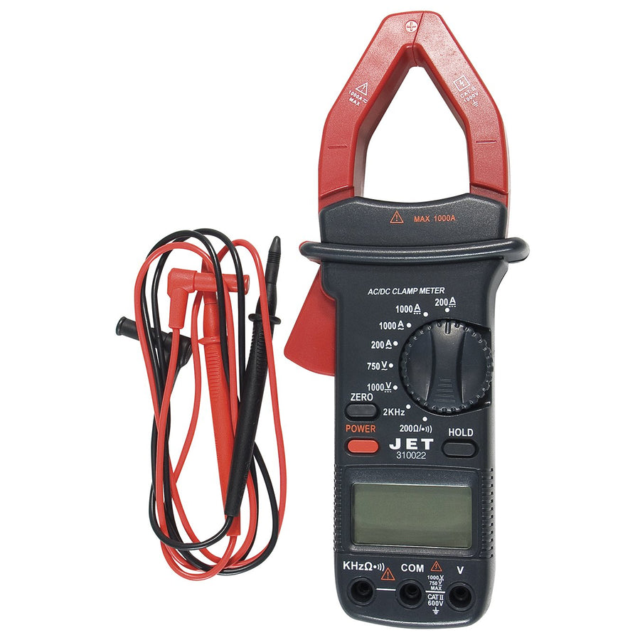 Jet 310022 Digital Clamp Meter Hand Tools - Cleanflow