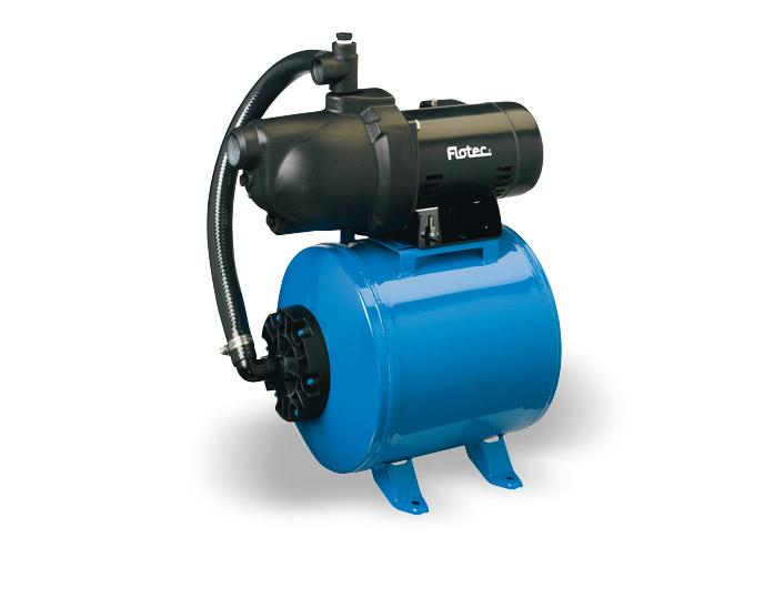 Flotec 1/2 HP Thermoplastic Shallow Well Jet Pump/Tank Water System