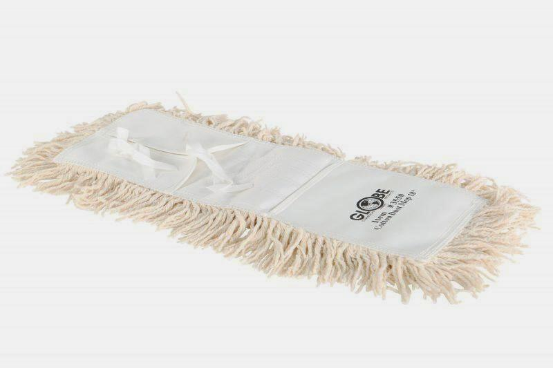 Cotton 4-Ply Dust Mop Heads | Tie-On Style Janitorial Supplies - Cleanflow