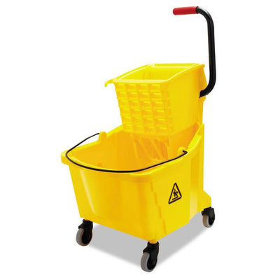 Globe Commercial Bucket & Wringer Combo | 35 Quart Janitorial Supplies - Cleanflow