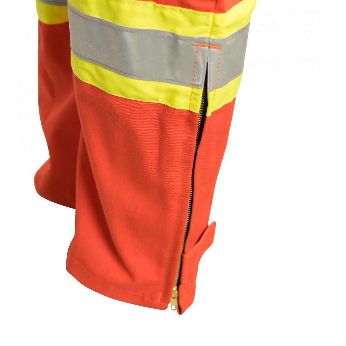 KELTEK 364S Flame Resistant Unlined CSA Bib Overall | Orange | S-5XL (HRC 2) Flame Resistant Work Wear - Cleanflow