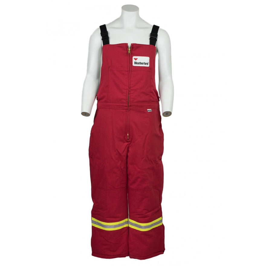 KELTEK 369S Flame Resistant Nomex Insulated Bib Coverall | Red | S-5XL (HRC 4)