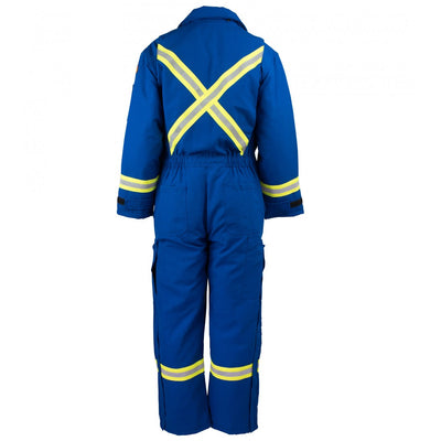 KELTEK 372S Flame Resistant Nomex Insulated Coverall | Blue | S-5XL (HRC 4) Flame Resistant Work Wear - Cleanflow