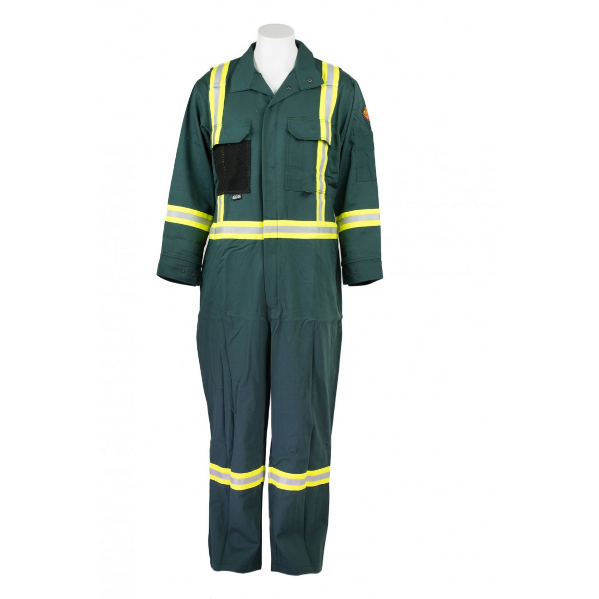 KELTEK 377S 7oz Premium Flame Resistant Coverall | Green | Sizes 34-64 (HRC 2) Flame Resistant Work Wear - Cleanflow