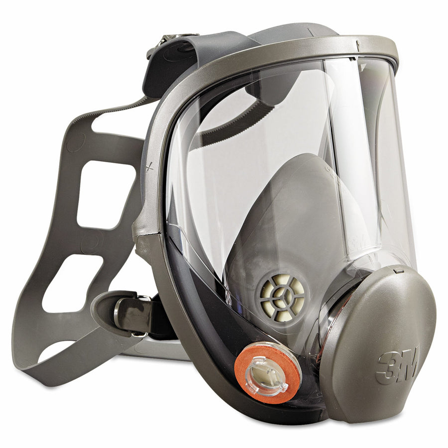3M 6000 Series Full Face Respirator Face Mask | Small, Medium or Large Personal Protective Equipment - Cleanflow