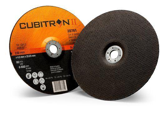 3M Cubitron II Cut and Grind Wheels - Type 27 Depressed Centre Style
