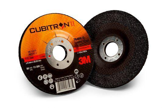 3M Cubitron II Grinding Wheels - Type 27 Depressed Centre Style