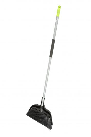 "Jumbo 15"" Commercial Angle Broom with Dust Pan"