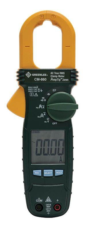 Greenlee CM-860 AC True RMS Clamp Meter Hand Tools - Cleanflow