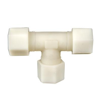 Jaco Kynar Compression Tube Union Tees Tubing and Fittings - Cleanflow