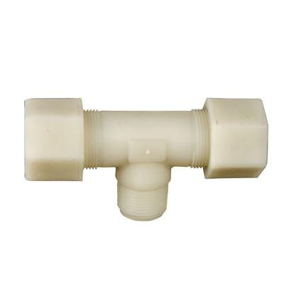 Jaco Kynar Compression Tube Male Branch Tees Tubing and Fittings - Cleanflow