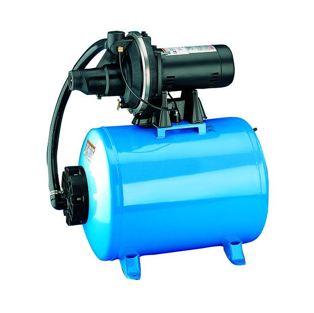 Flotec 3/4 HP Shallow Well Jet Pump/Tank Home Water Pressure System | 10.2 GPM Well Pumps and Pressure Tanks - Cleanflow