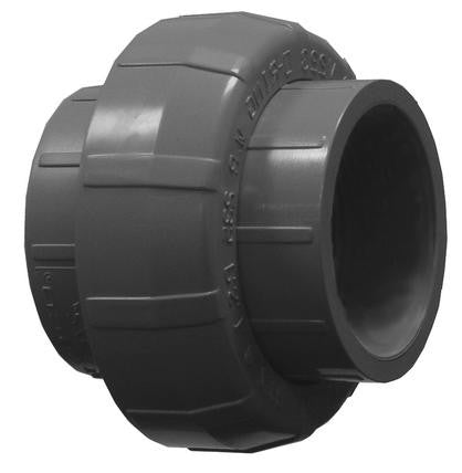 Lasco Schedule 80 PVC Socket Weld Union Couplings Fittings and Valves - Cleanflow