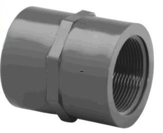 "Lasco 1/2"" to 3"" Schedule 80 PVC Socket x FPT Adapter Couplings"