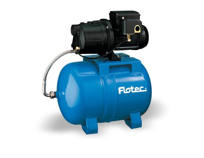 Flotec 1/2 HP Cast Iron Shallow Well Jet Pump/Tank Water System