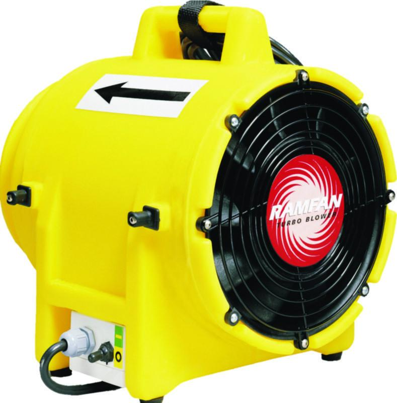 Ramfan Confined Space Axial Blower/Exhauster | 8 Inch | 120 Volt