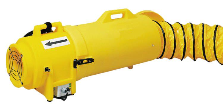 Ramfan 8 Inch Quick Couple Confined Space Blower Duct