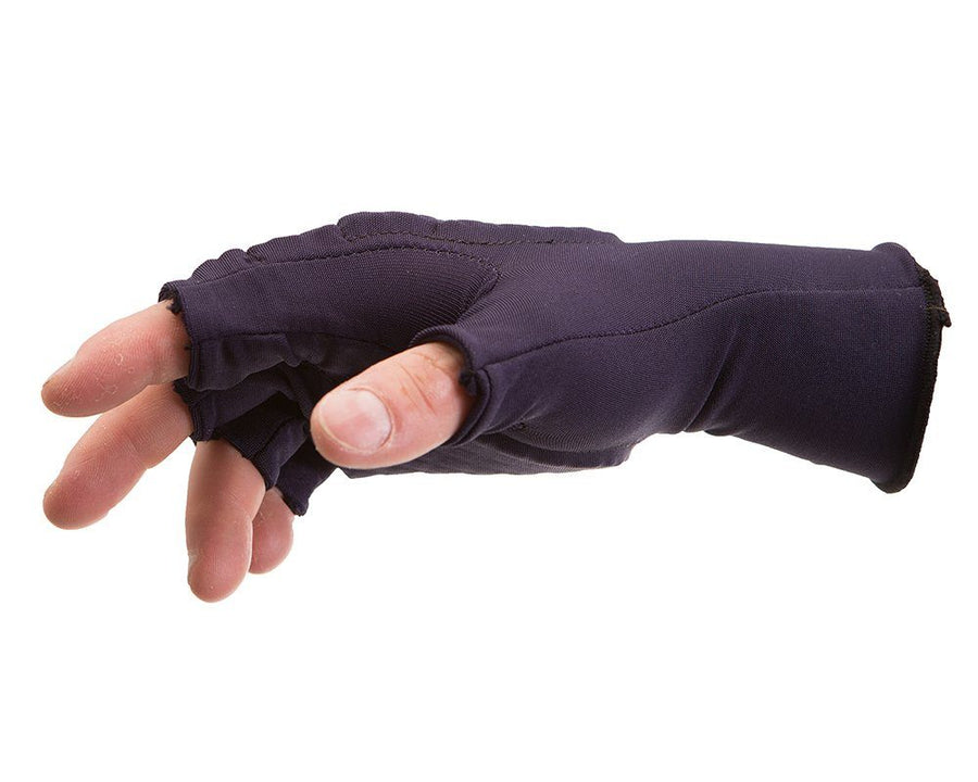 Impacto 507-01 3/4 Finger Padded Work Glove Liner Ergonomics - Cleanflow