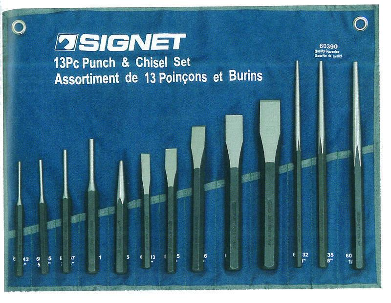 Signet 13 Piece Punch & Chisel Set