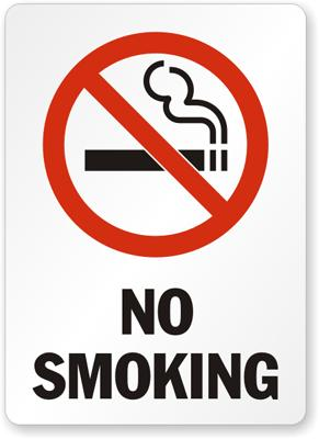 No Smoking Safety Sign Facility Safety - Cleanflow
