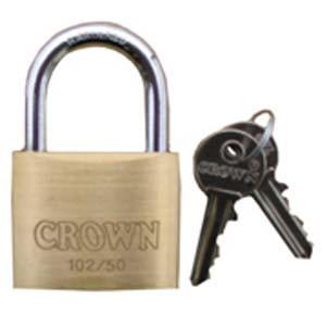 "Keyed Alike Brass Padlocks with Standard 1-1/4"", 1-1/2"" and 2"" Shackles Facility Safety - Cleanflow"