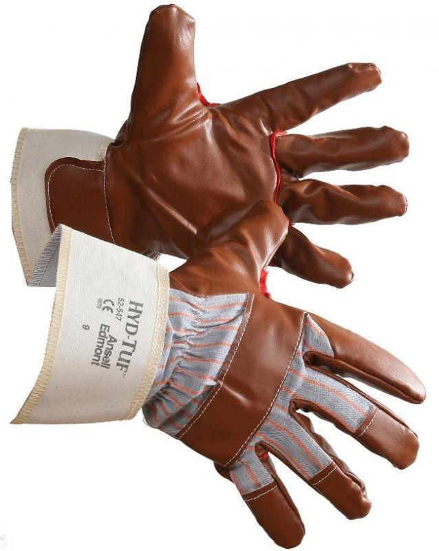 Ansell 52-547 Hyd-Tuf Nitrile Coated Work Gloves Work Gloves and Hats - Cleanflow