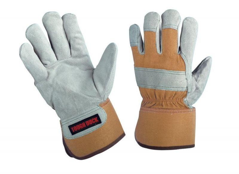 Tough Duck Premium Split Leather Work Gloves | Limited Size Selection Work Gloves and Hats - Cleanflow