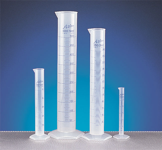 Polypropylene Graduated Cylinders Water Testing Supplies - Cleanflow
