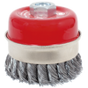 Jet Knot Banded Cup Brushes Shop Equipment - Cleanflow