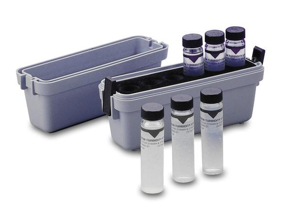 Hach 2659405 StablCal Sealed Vials Turbidity Standards Calibration Kit Standard Solutions and Buffers - Cleanflow