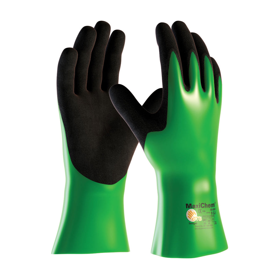 "ATG® MaxiChem® 12"" Multi-Polymer Blend Gloves Work Gloves and Hats - Cleanflow"