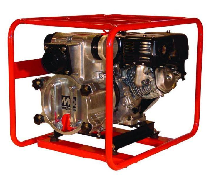 "Multiquip QP3TH 7.9 Honda Gas Engine 3"" Trash Pump 