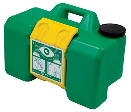 Haws 7501 Portable 9 Gallon Eyewash Station First Aid and Eyewash - Cleanflow