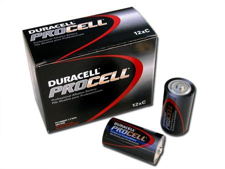 Duracell Procell Professional Alkaline Battery | C Cell Maintenance Supplies - Cleanflow