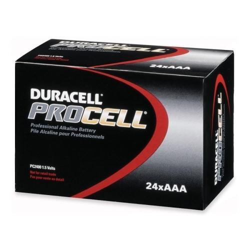 Duracell Procell Professional Alkaline Battery | AAA Cell Maintenance Supplies - Cleanflow