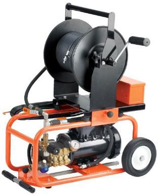 General JM-1450-A 1.5 HP Electric Motor Jetter Drain Cleaner | 1.7 GMP | 1500 PSI Pipe Cleaning and Thawing - Cleanflow