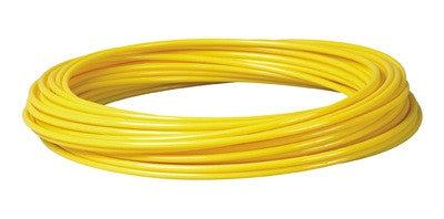 Yellow Low Density Polyethylene (LDPE) Tubing | Food Grade | Limited Size Selection Tubing and Fittings - Cleanflow