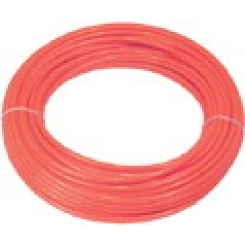 "Red Linear Low Density Poly (LLDPE) Tubing | Food Grade | 1/4"" OD 